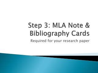 How to Write a Research Paper: Note Cards - factmonstercom